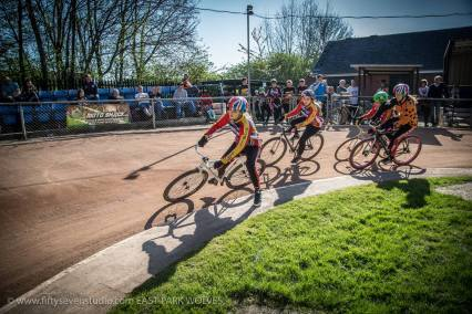 Lizzie Rigley was on top in the Girls event. Photos by Greg at East Park.