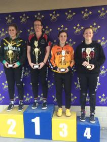 Women: 1st Letitia Collins 2nd Lucy Millikin 3rd Holly Greenhalgh 4th Kayleigh Clarke