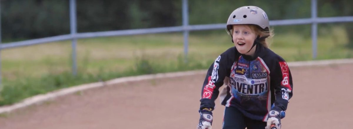 WATCH: Coventry Cycle Speedway promoting HSBC UK City Ride