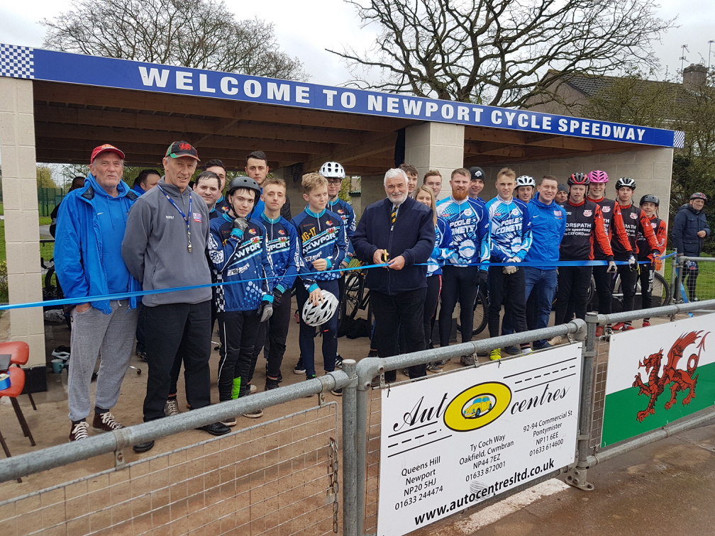 CLUB NEWS: Newport open new pits enclosure