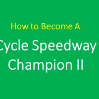 FEATURE: How to become a cycle speedway champion ii