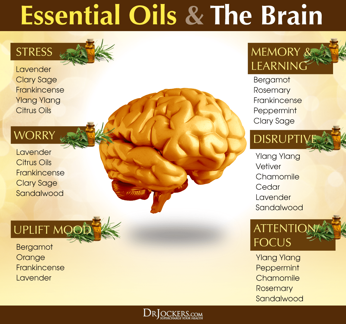 How To Use Essential Oils For Brain Health