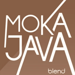 Moka Java Blend label.