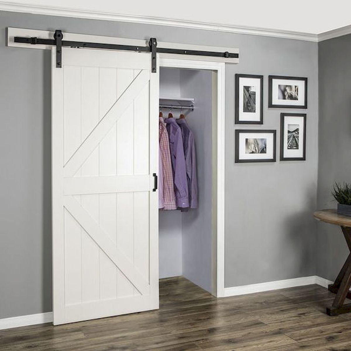 33 Fantastic Barn Door Design Ideas (2)