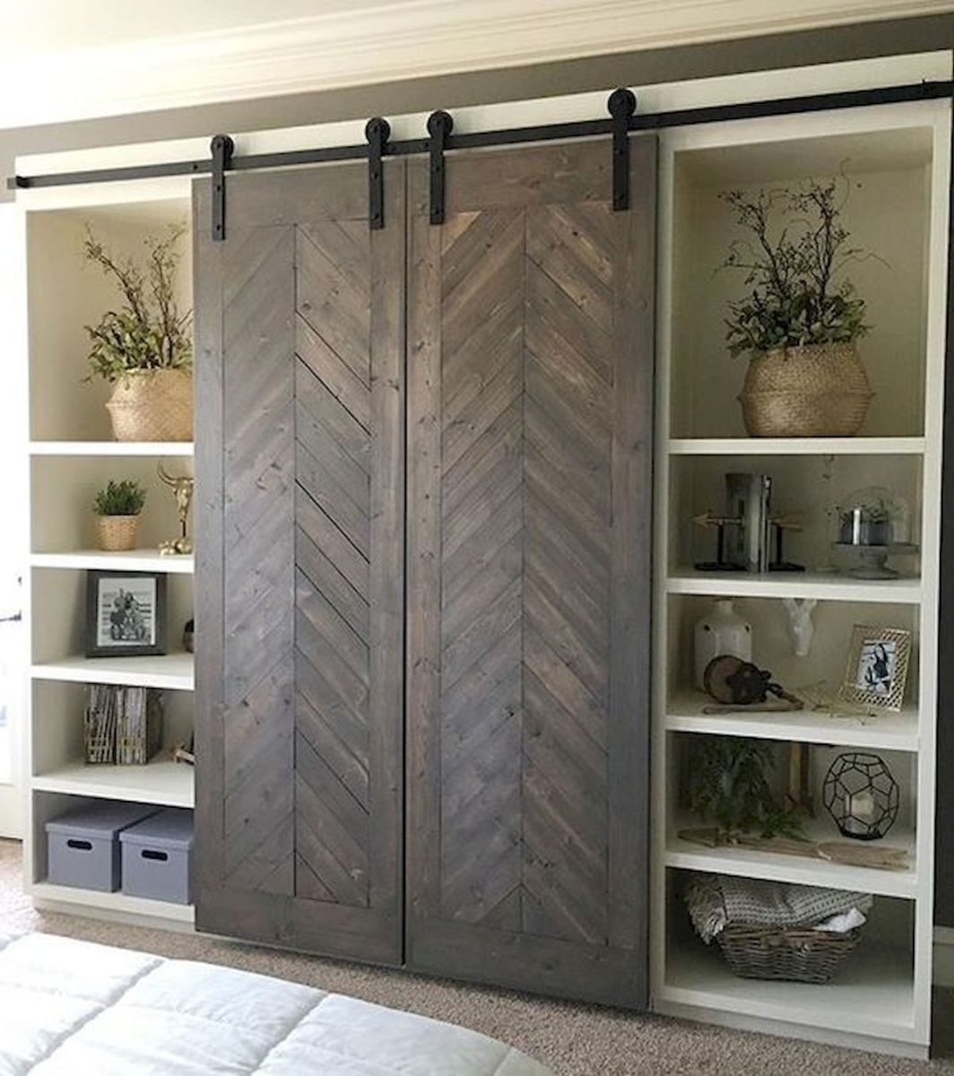 33 Fantastic Barn Door Design Ideas (7)