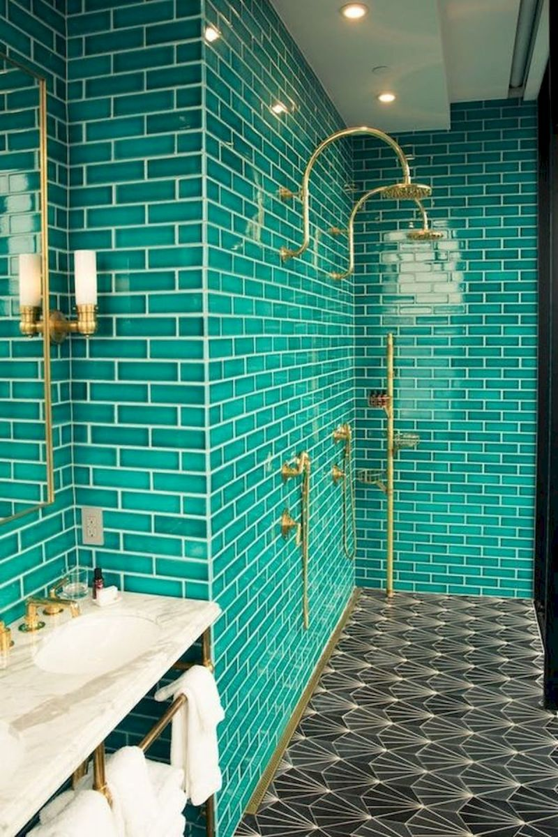 33 Fantastic Bathroom Tile Design Ideas (11)