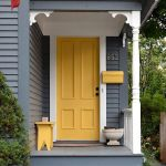 33 Magical Front Door Colors Design Ideas (27)