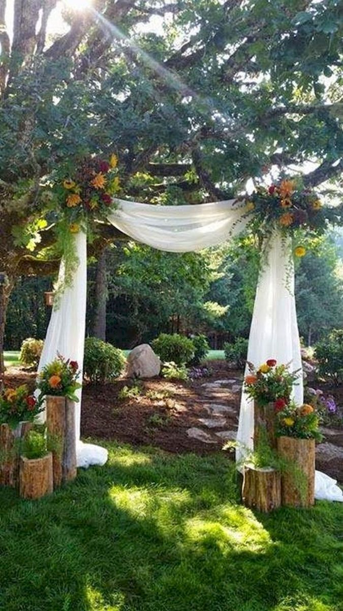 33 Ideas For Outdoor Spring Wedding (29)