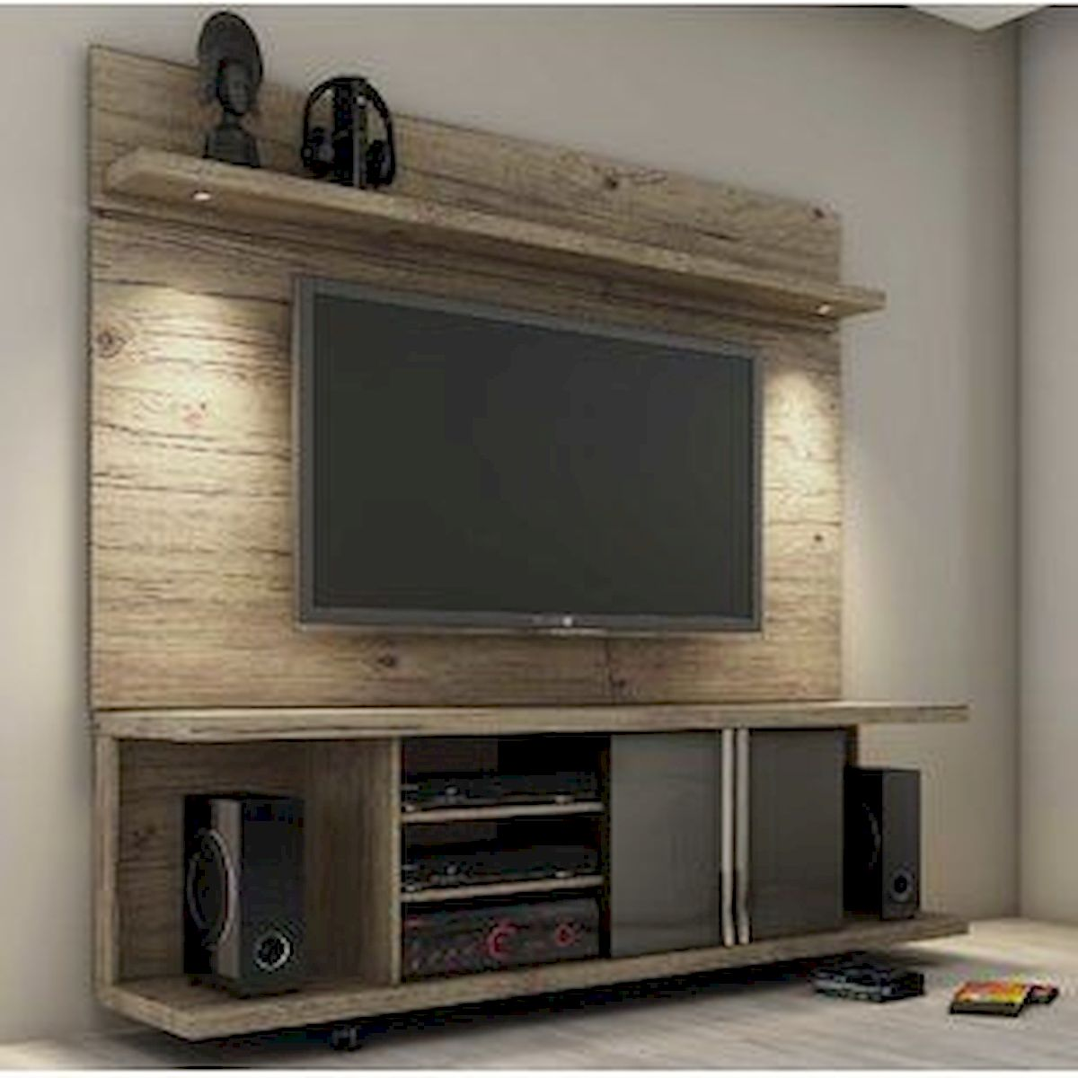 33 Ideas For Pallet TV Stand (20)