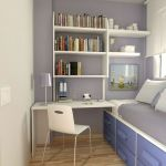 33 Ideas For Small Apartment Bedroom College (26)