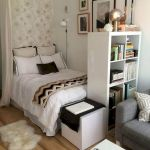 33 Ideas For Small Apartment Bedroom College (40)