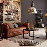 33 Best Industrial Living Room Ideas (15)
