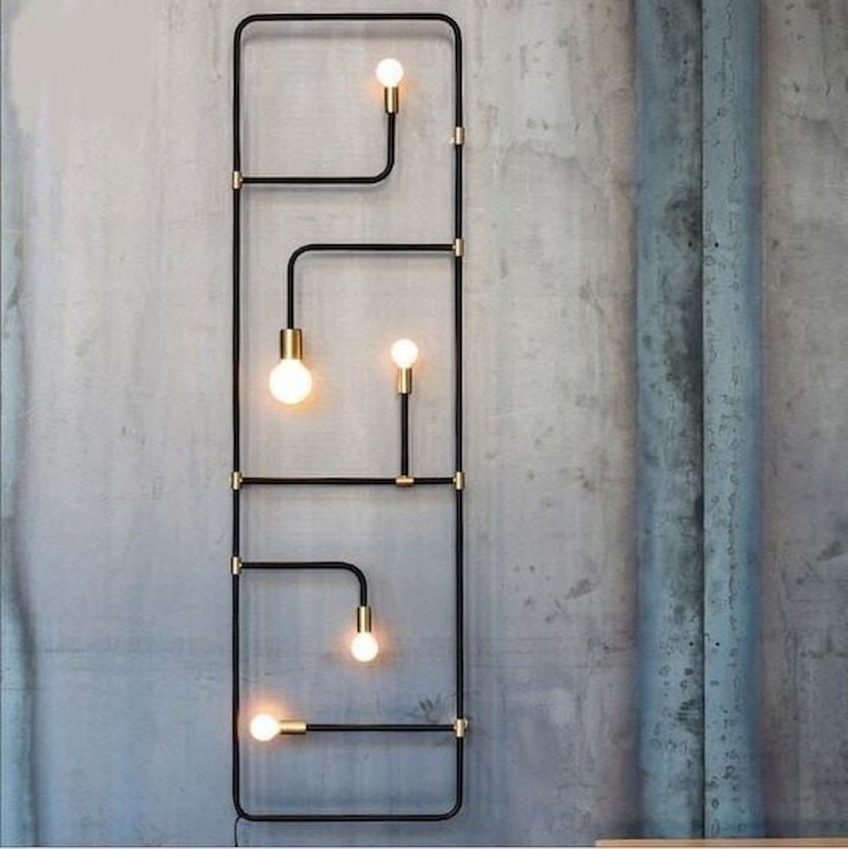 Best 33 DIY Wall Decor Built with Industrial Design (29)