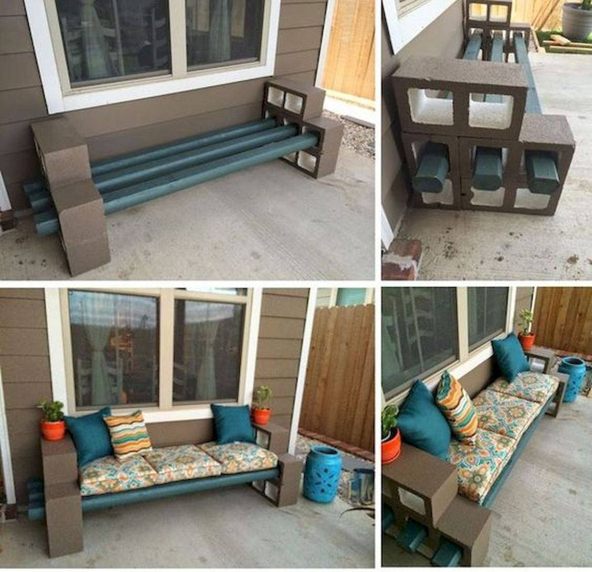 33 Best DIY Patio Furniture Ideas (3)