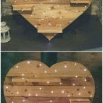 33 Best DIY Wood Hearts Ideas (10)