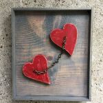 33 Best DIY Wood Hearts Ideas (19)
