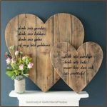 33 Best DIY Wood Hearts Ideas (26)