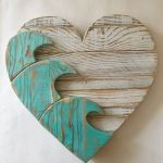 33 Best DIY Wood Hearts Ideas (7)