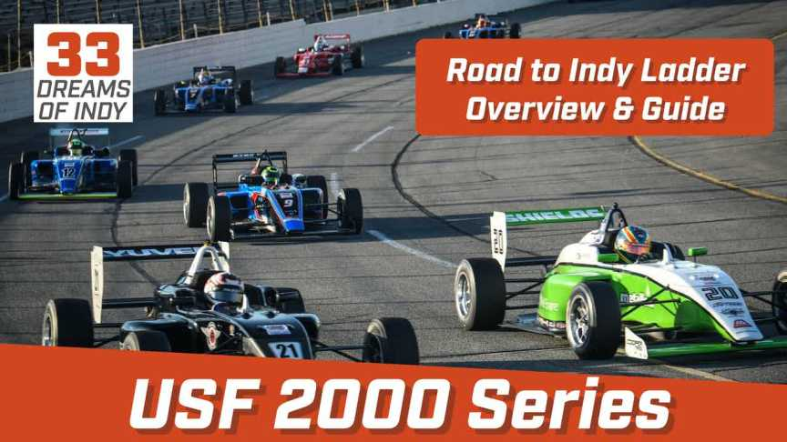 USF2000 Series Overview - Road to Indy Ladder