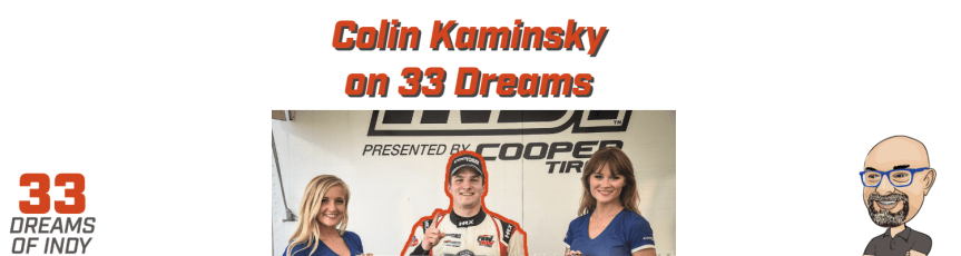Catching up with Colin Kaminsky