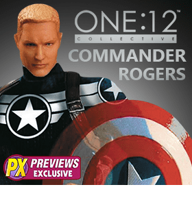 ONE:12 COLLECTIVE MARVEL COMMANDER ROGERS