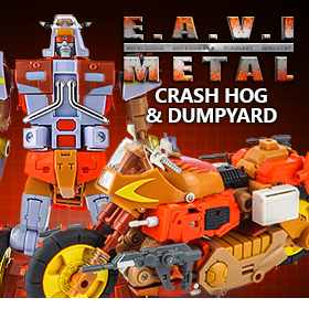 EAVI METAL PHASE SIX: CRASH HOG & DUMPYARD