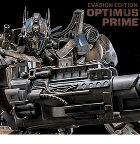 TRANSFORMERS OPTIMUS PRIME EVASION EDITION