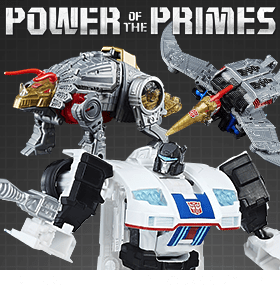 TRANSFORMERS POWER OF THE PRIMES DELUXE FIGURES