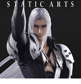 FINAL FANTASY SEPHIROTH STATIC ARTS BUST