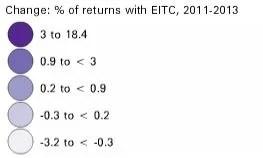 EITC change legend