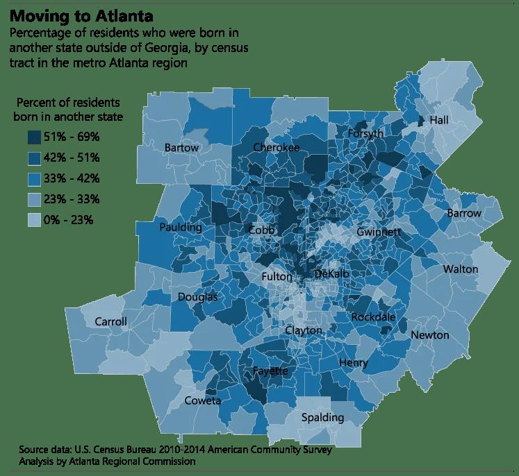 Moving to Georgia