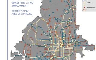 TSPLOST Atlanta map