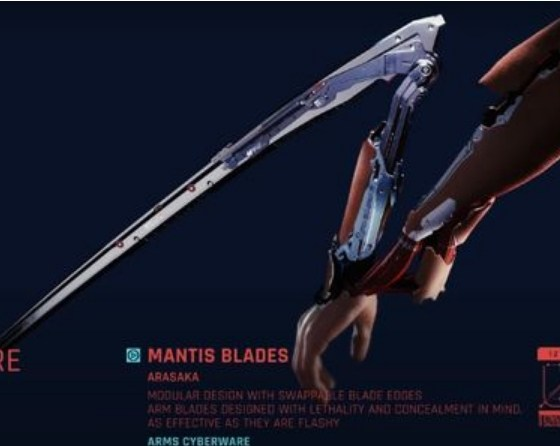How to Unlock The Mantis Blades in Cyberpunk 2077