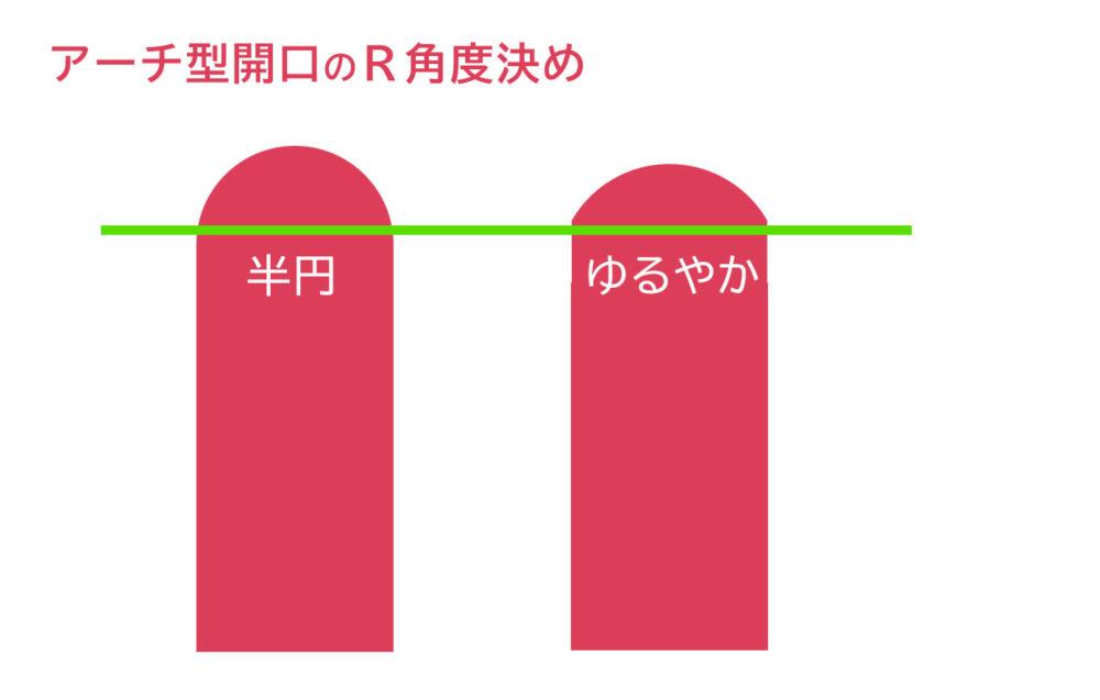 33坪注文住宅_アーチ型入口費用