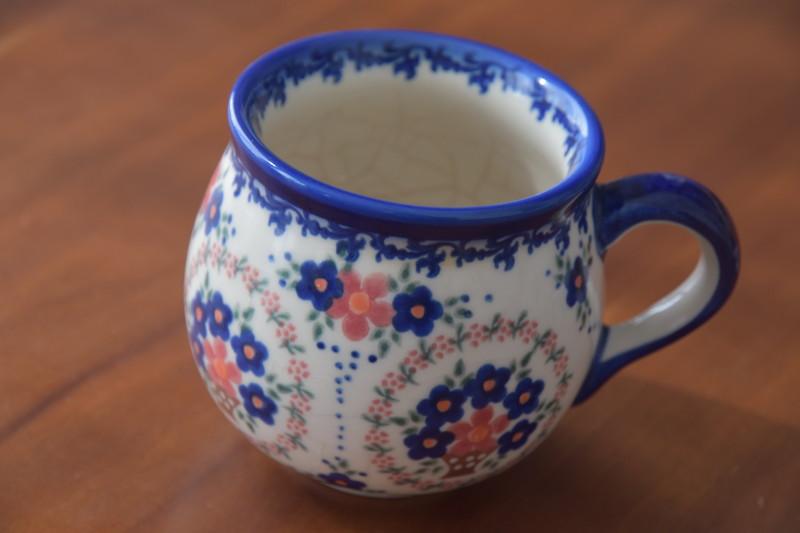 ポーリッシュポタリーのマグカップ大の人気