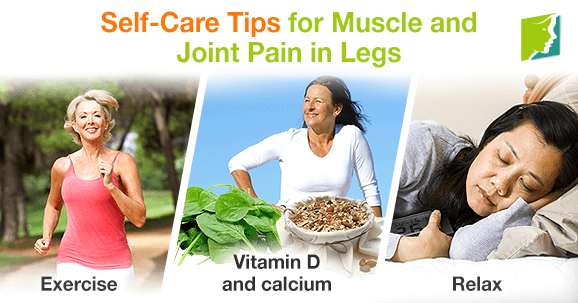 Self-Care Tips For Muscle And Joint Pain In Legs