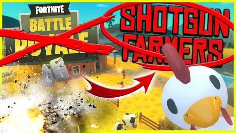 Besser als Fortnite?!! - Shotgun Farmers (Deutsch/German)