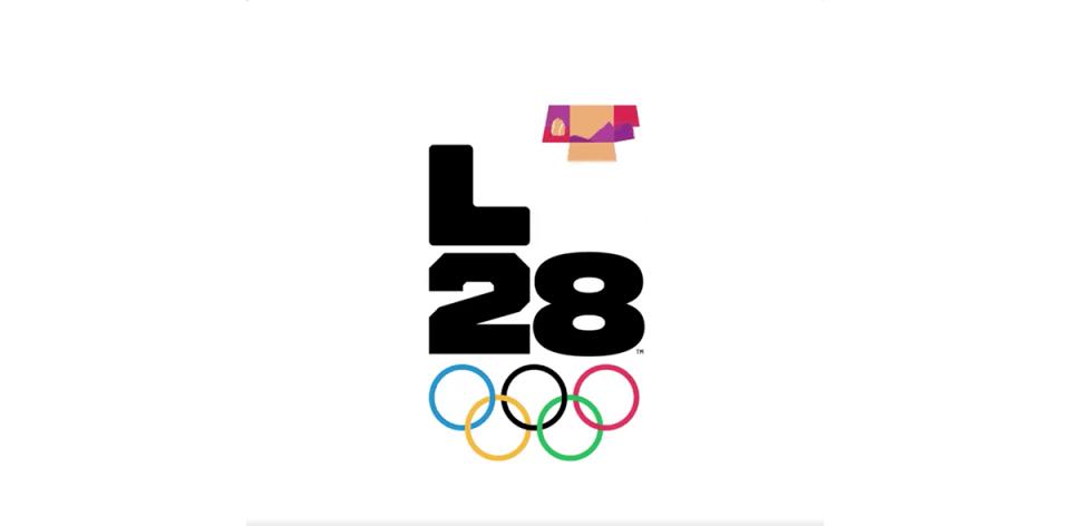 ¡Histórico! La historia detrás del logo de los Juegos Olímpicos de Los Ángeles 2028