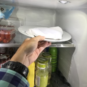 How to Cook a Steak: put in the fridge