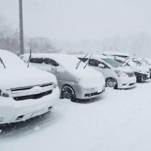 雪の日にワイパーを立てる理由は?