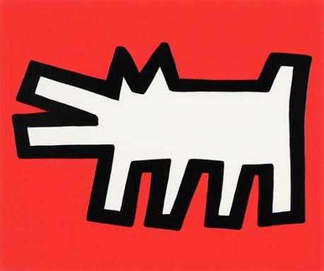 Barking Dog. Keith Haring (Featured image: urbanfire)