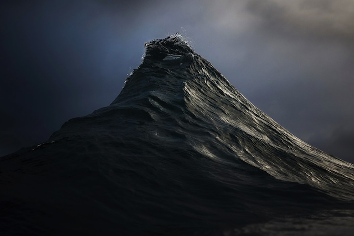 Photo of Huge ocean wave. Image by Ray Collins