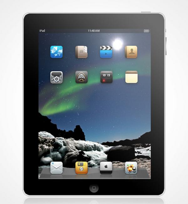 Create a Detailed Apple iPad