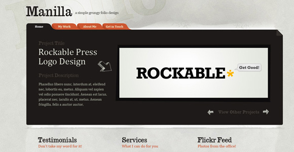Photoshop a Paper Texture from Scratch then Create a Grungy Web Design with it!