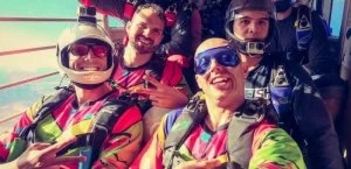 Skydiving boogie