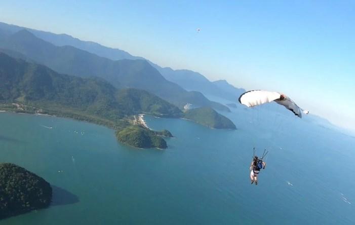 Ubatuba, SP Brazil, skydiving, nature, adrenaline sports