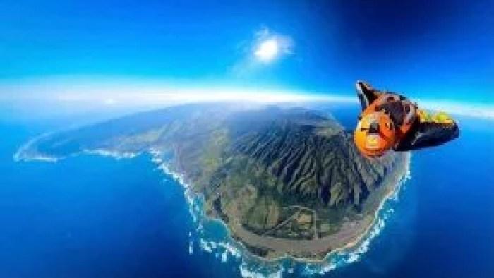 Skydive Pacific Honolulu wingsuit photo