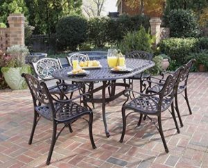 Biscayne Bronze 7-Piece Outdoor Dining Set by Home Styles