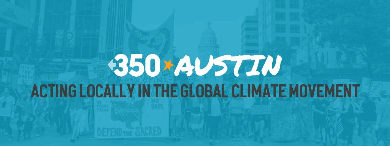 350 Austin Monthly Meeting – NEW LOCATION!