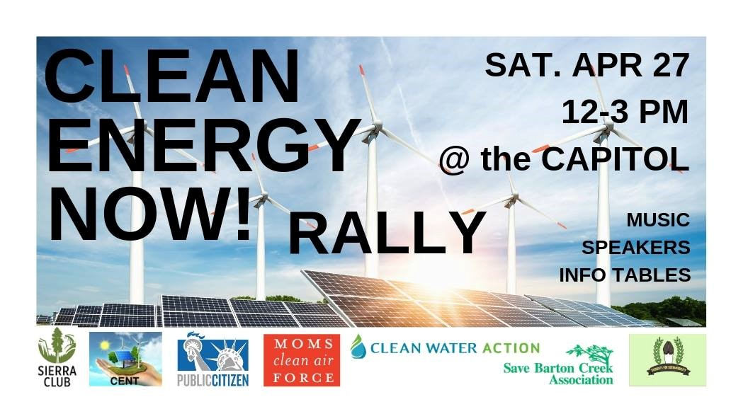 Clean Energy Now Rally 4/27/2019